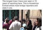 مراسل نیویورک تایمز فی طهران: أطول طوابیر انتخابیة رأیتها فی 15 عاما