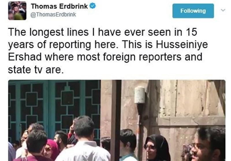 خبرنگار نیویورکتایمز