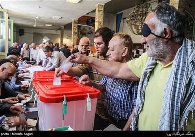 انتخابات ریاست جمهوری و شورای شهر-مسجد امام جعفرصادق(ع)-صادقیه