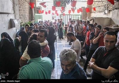 انتخابات ریاست جمهوری و شورای شهر- مسجد ولی الله الاعظم جنت آباد