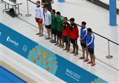 Islamic Solidarity Games: Iran Takes 10m Synchronised Platform Gold