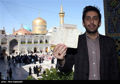People in Iran's Mashhad Vote in Presidential Election