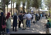 مشارکت مردم در شهر کرمان از 70 درصد عبور کرد