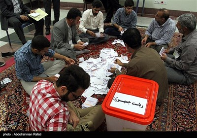 آغاز فرایند شمارش آرای انتخابات ریاست جمهوری در همدان
