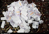 عملیة فرز الاصوات مستمرة فی جمیع انحاء ایران