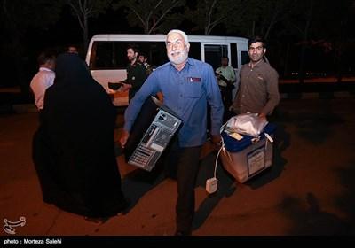 تحویل صندوق های رای به فرمانداری در مبارکه اصفهان