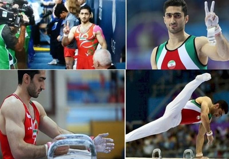 Iran's Keikha to Participate at Toyota Gymnastics Competition