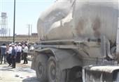 اصفهان| جزئیات حادثه سقوط بونکر سیمان بر چند وسیله نقلیه؛ راننده پژو جان باخت