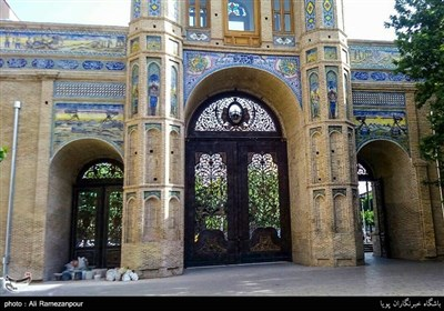 The Gate of National Garden in Iran's Tehran - Tourism news