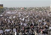 Thousands of Yemenis Rally in Sa'ada on 1000th Day of Saudi Aggression