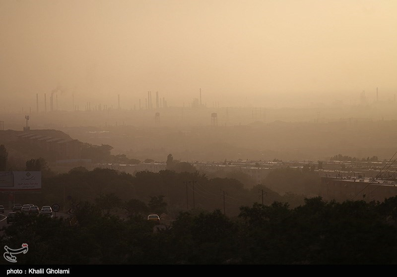 گرد و غبار مهران به دلیل شرایط جوی ماندگار نیست