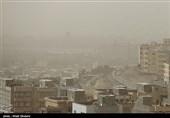 غلظت ذرات غبار در هوای استان کرمانشاه روند افزایشی دارد