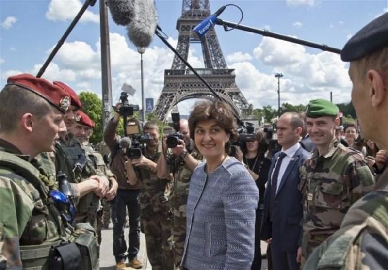 وزیر دفاع فرانسه استعفا کرد