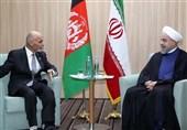الرئیس الأفغانی یهنئ روحانی بفوزه فی دورة رئاسیة جدیدة