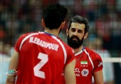 والیبال ایران لهستان سعید معروف