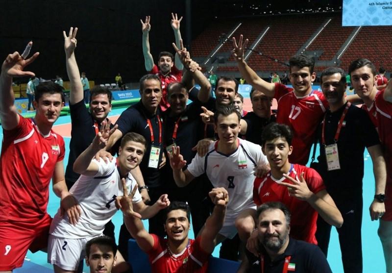 Islamic Solidarity Games: Iran Volleyball Team Wins Gold Medal