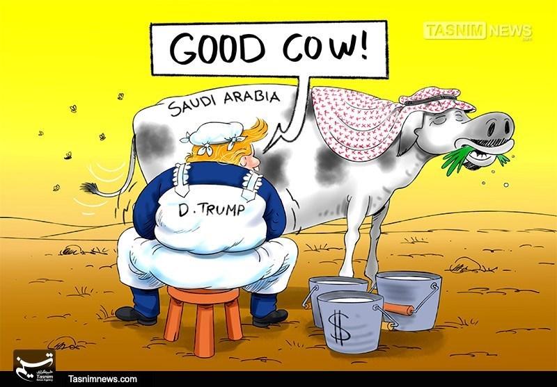 Iran's Zarif Says Trump Milking Saudi Arabia of $480 Billion