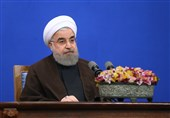 President Rouhani: Iranian Nation to Defeat Terrorism, Violence