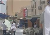 حمله نیروهای امنیتی بحرین به محل تحصن
