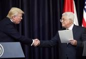ترامپ و محمود عباس
