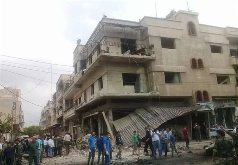 قتیلان و40 جریحا فی تفجیر انتحاری وسط حمص +صور