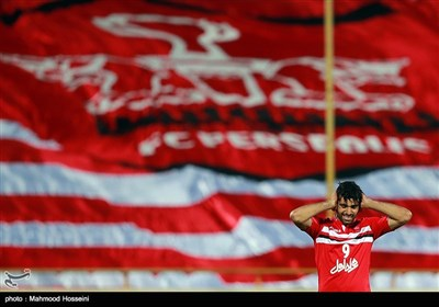 دیدار تیم های فوتبال پرسپولیس ایران و الریان قطر