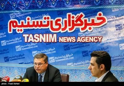 نشست خبری وزیر بین المللی و تجاری آستراخان روسیه