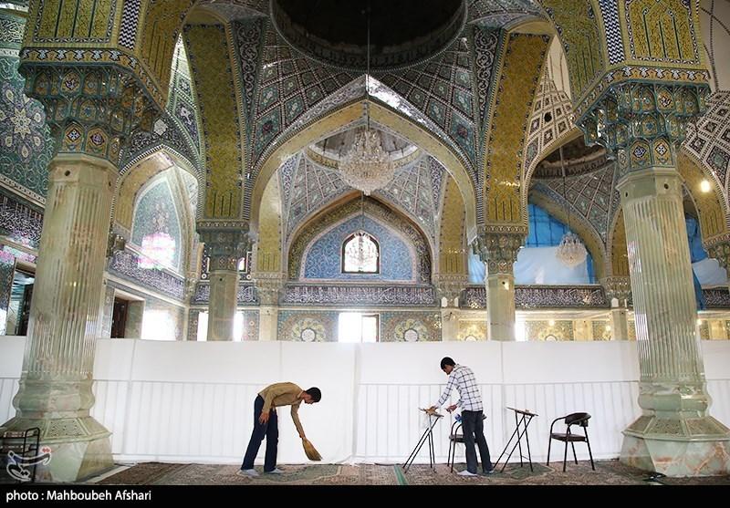 کرمان| مساجد کرمان از امروز به استقبال ماه مبارک رمضان میروند
