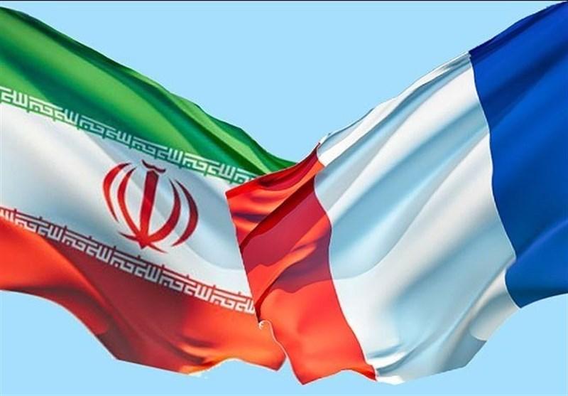 پرچم فرانسه ایران