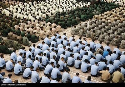 تجدید میثاق جمعی از فرماندهان و یگانهای منتخب نیروهای مسلح با آرمانهای امام خمینی (ره)