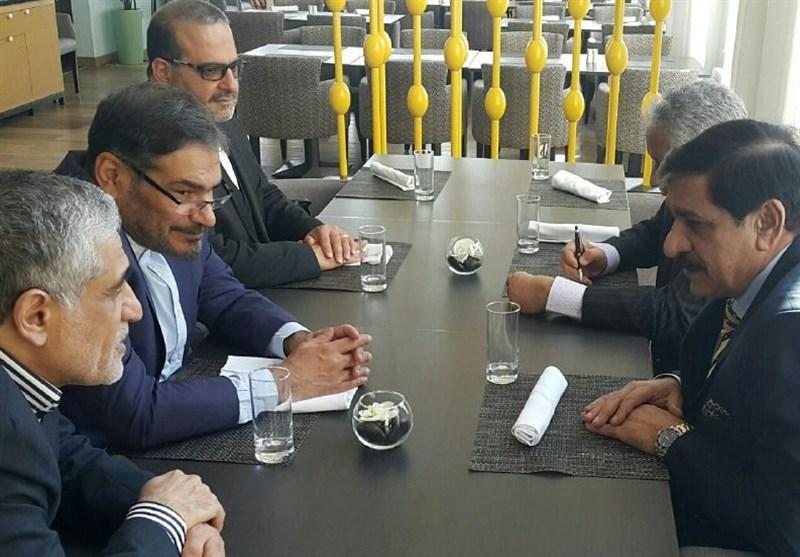Iran's Shamkhani Holds Talks with Pakistani, Turkish, S African Security Officials