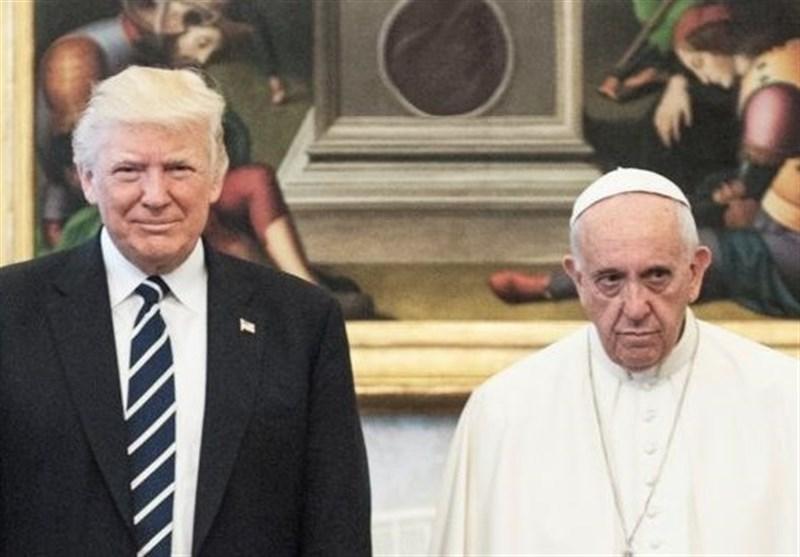 دلوں میں خلش، مسکراتے چہرے / ٹرمپ کی پوپ سے ملاقات