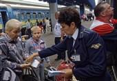 راه آهن اوکراین روسیه