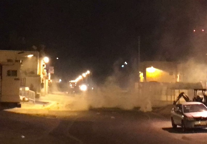 تظاهرات شبانه بحرینیها