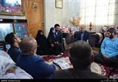 دیدار جامعه قرآنی با خانوداه شهید مرتضی شکرانی