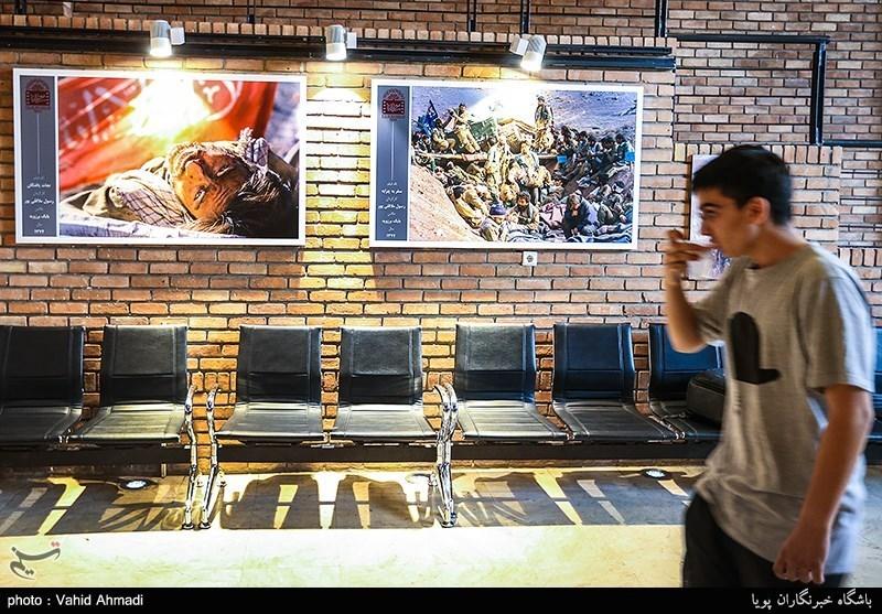 نمایشگاه عکس فیلم های دفاع مقدس