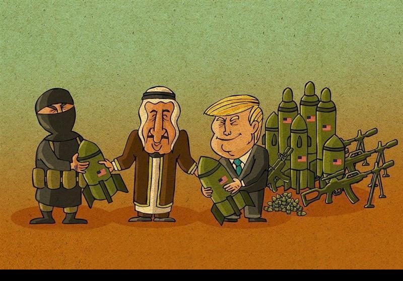 دہشتگردوں کیلئے خوشخبری؛ ٹرمپ نے دہشتگردوں کا اسلحہ سعودیہ کے حوالے کردیا!