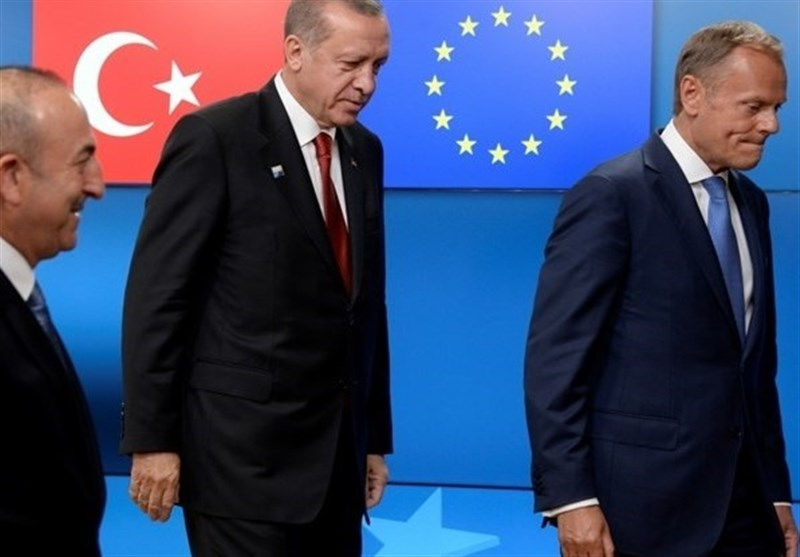 EU Meets Turkey's Erdogan in Bid to Ease Tensions