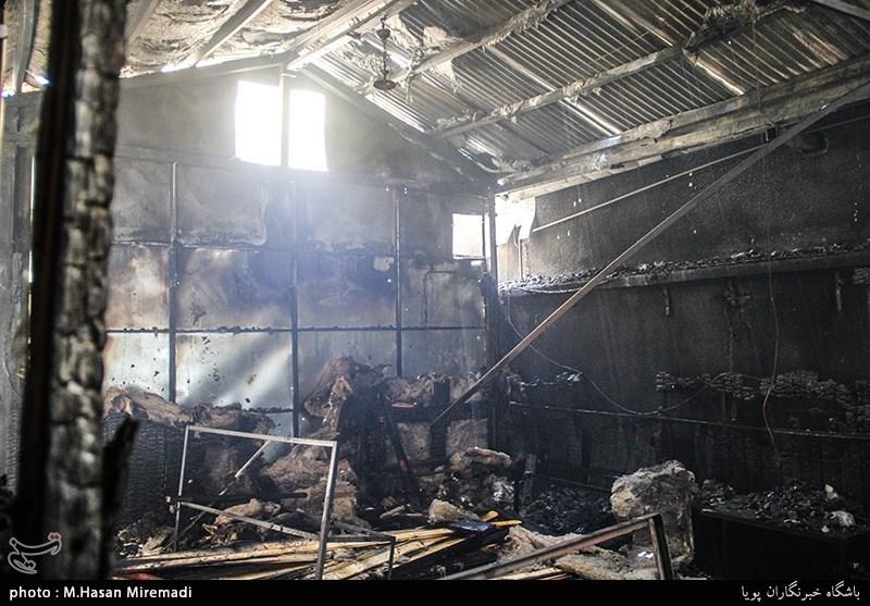 آتش سوزی هتل آپادانا تهران | علت و جزئیات | عکس و فیلم