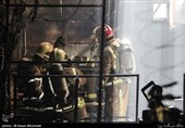جزئیات آتشسوزی در هتل آپادانای تهران / نجات 4 کارگر محبوس شده