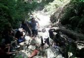 """سقوط از آبشار """"لوه"""" جان گردشگر گنبدی را گرفت"""