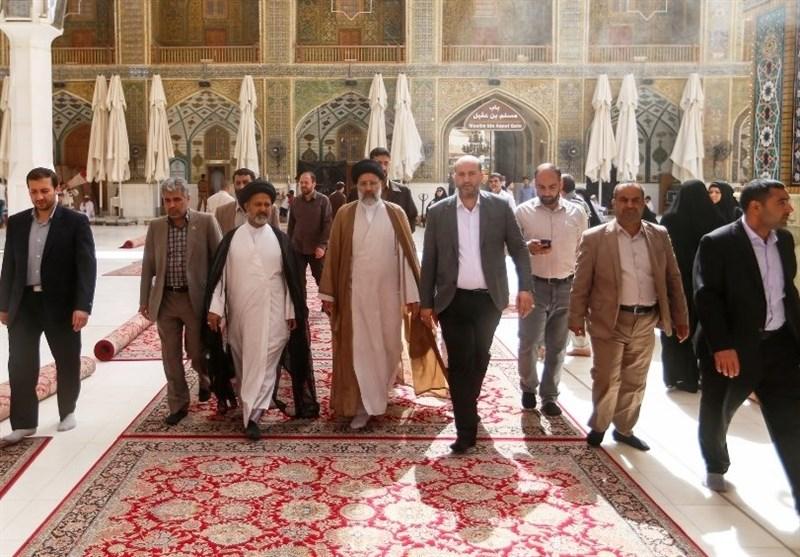 محادثات حول التعاون بین العتبتین العلویة والرضویة المقدستین+صور