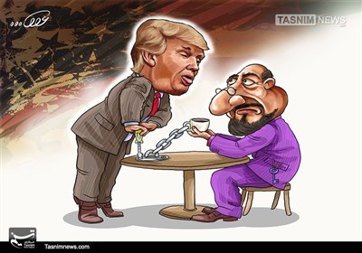 کاریکاتور/ دوباره نیرنگ دوباره تحریم