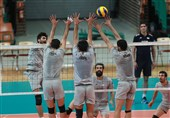 تمرین والیبال ایران