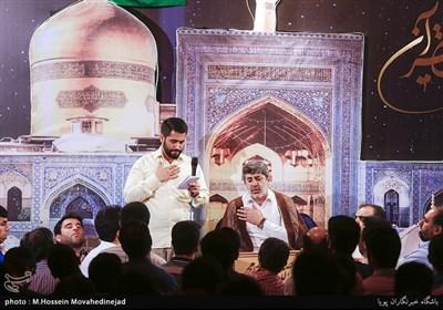 مراسم مناجات شب اول ماه رمضان