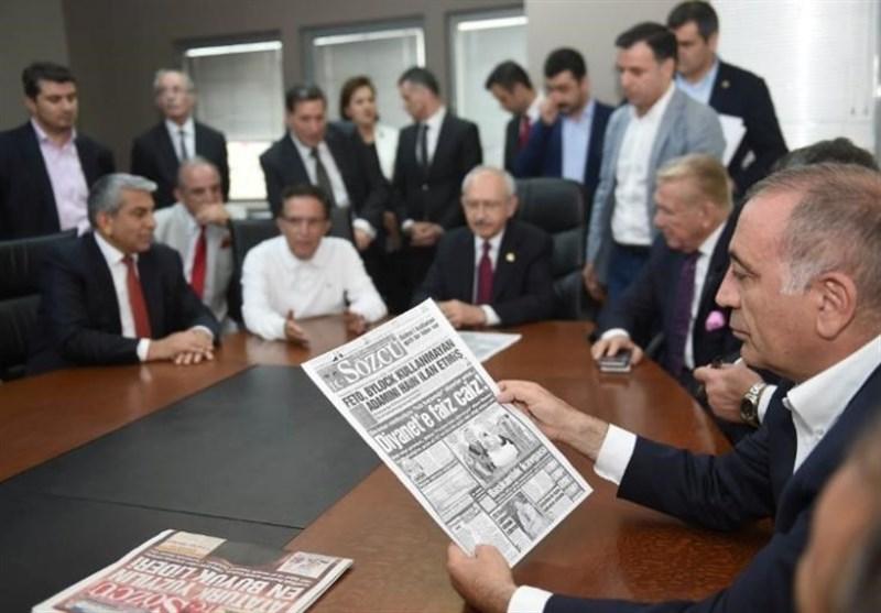 ترکیه کارکنان یک روزنامه را به اتهام ارتباط با کودتا بازداشت کرد