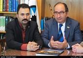 علی سامعی نماینده فیاپ در ایران ، ریکاردو بوسی رئیس فیاپ از ایتالیا