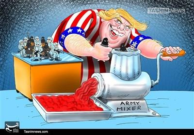 ٹرمپ کے توسط سے امریکی فوج کی تعمیر نو!