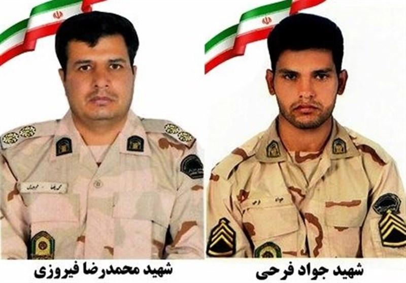 تشییع جنازه 2 مرزبان شهید در ارومیه