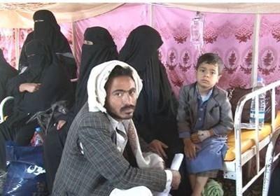 وبا در میان کودکان جنگ زده یمن